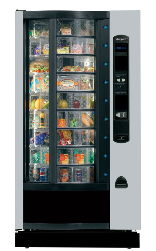 Cms Shopper 2 Fresh Food Vending Machine Available To Rent