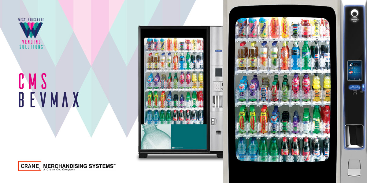 CMS BevMax refrigerated drinks vending machine
