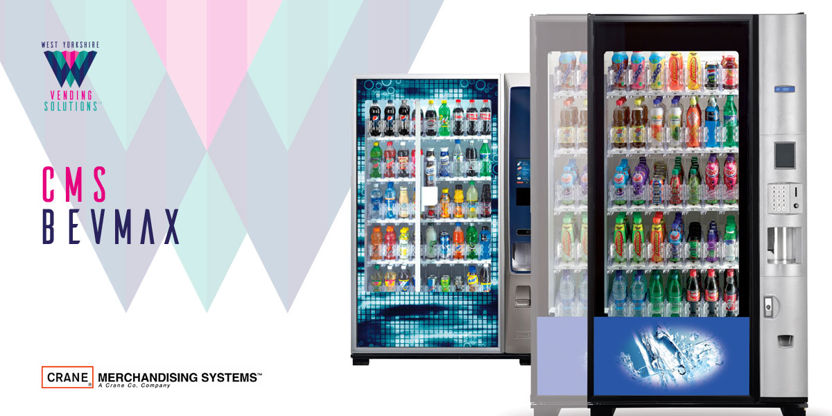 CMS BevMax chilled drinks vending machines