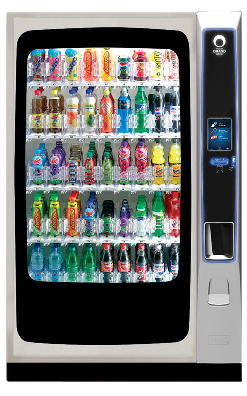 CMS BevMax 4 chilled drinks vending machine