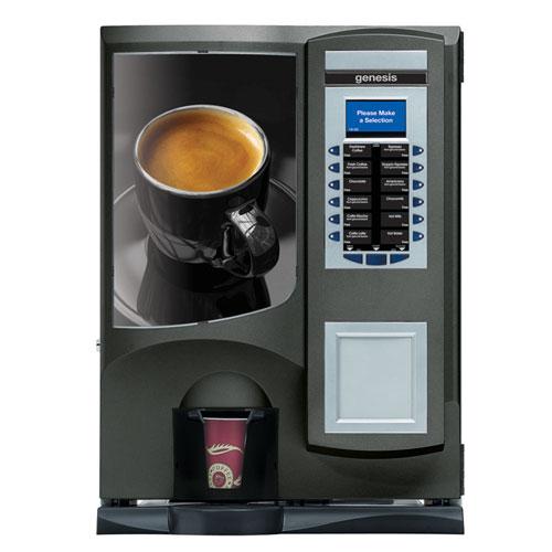 CMS Genesis vending machine, Leeds, West Yorkshire