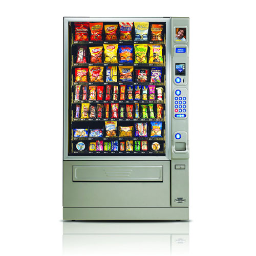 CMS Merchant snack and confectionary vending machine