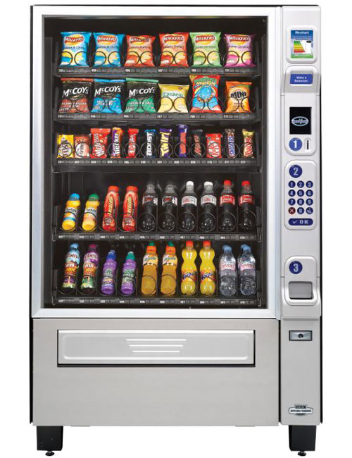 CMS Merchant snack and chilled drinks vending machine