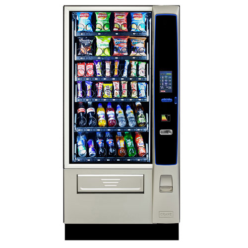 CMS Merchant Media vending machine