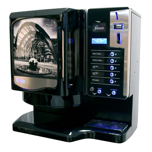 DarenthMJS Elite vending machine, West Yorkshire