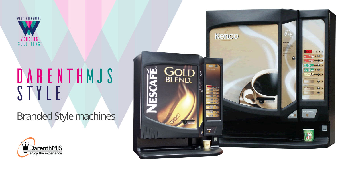DarenthMJS Style table top branded vending machine