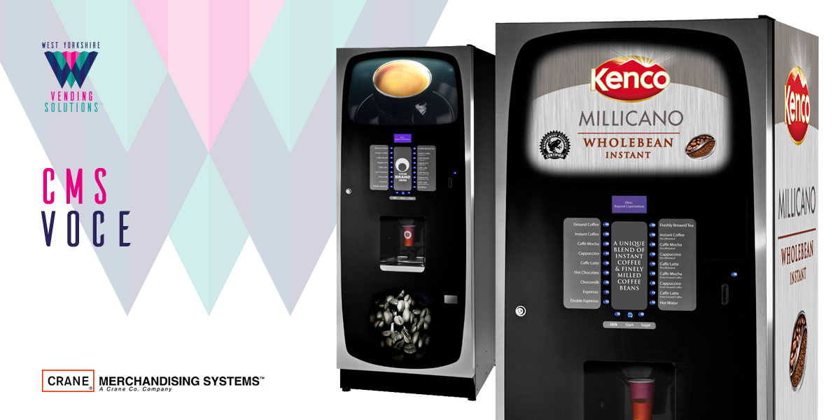 CMS Voce In Cup vending machines
