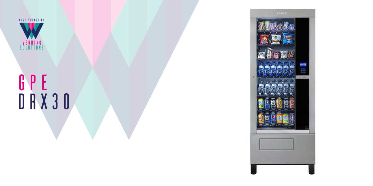 GPE DRX30 Free Standing Vending Machine